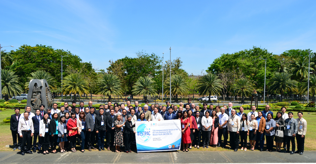 12th Inter-Governmental Session of the IOC Sub-Commission for the Western Pacific (WESTPAC-XII), 2-5 April 2019, Philippine International Convention Center